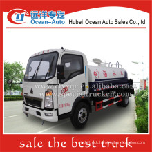 SINOTRUK HOWO 4x2 4000liter small water tanker truck sale
