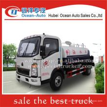 SINOTRUK HOWO 4x2 4000liter camião cisterna pequeno caminhão venda