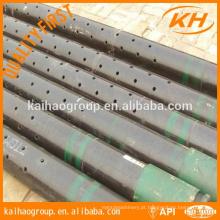 Laser Sand Control N80 Slotted Tubo de revestimento China fabricação