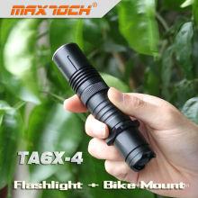Maxtoch TA6X-4 Cree XML T6 Tactical New Flash Light Products