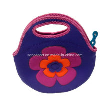 Good Quality Neoprene Tote Food Bag for Women (SNPB11)