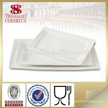 Ceramic Appetizer rectangular dish restaurant serving dishes