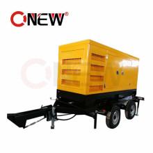100 kVA Portable Electric Power Plant 80kw 100kVA Mobile Trailer Generator Price