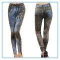 Женские леггинсы для цифровой печати, бесшовные ножки