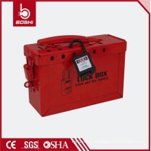 BD-X02 BRADY Kits de verificação de bloqueio elétrico, estação de troca de bloqueio com cadeados