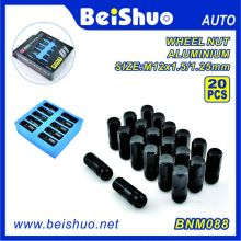 20PCS Black Color Aluminium D1 Spec Racing Nut