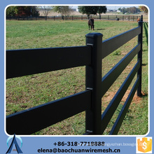 Customized High Quality and Strength Square/Round/Oval Tubes Style Grassland Fence
