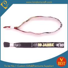 Kundenspezifische hochwertige gewebte Wristband