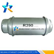 Propano R290, HC refrigerante de ambiente amigável,