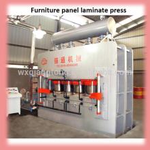 2800T 6 * 12 Heißpressmaschine automatische Linie / Möbel Laminiermaschine Maschine