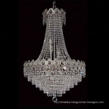 china manufacturers chrome commercial k9 crystal chandelier lighting crystal