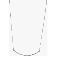 A simple necklace in stainless steel fashion necklace for girls