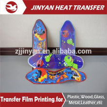 pet film heat transfer printing for skateboard
