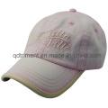 100% algodón sarga casquillo lavado casquillo de deporte de béisbol (TRNB025)