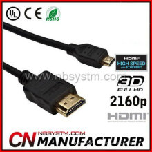 Cable HDMI tipo d