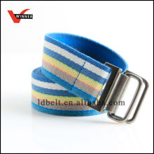 New design strip custom canvas belt for boys