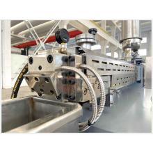 Double PE PVC PP Waste Plastic Nylon Compounding Pelletizing Extruder Machine