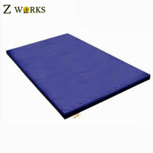 """Arcadia Blue 4'x8'x2"""" Thick Folding Panel Gymnastics Mat Gym Fitness Exercise Mat For Sale"""