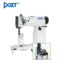 DT 82440-1H single-agulha Post-cama composto costura Lockstitch máquina com grande Rotary Shuttle