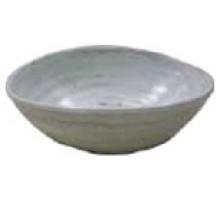 Melamine Oval Bowl with Thread Melamine Bowl (QQBK1615)