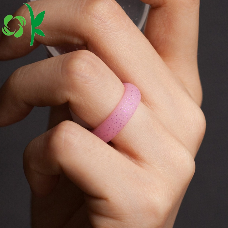 silicone powder ring show