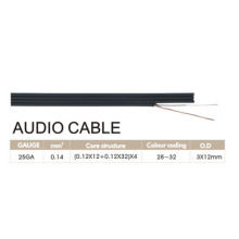 4Pair Transparent Speaker Cable