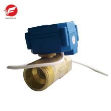 La válvula de control de flujo eléctrica 4-20ma más duradera y motorizada 12v