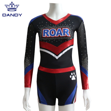 Red Mystique Cheer Dance Костюм