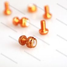 Colorful Anodized Aluminum Screw/ Socket/ Bolts for Drones/Helicoper