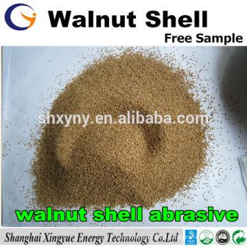 walnut shell grit/walnut shell sand grain abrasive for sandblasting