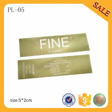 PL05 Professionally Supply Print Clothing Label/Hate Printing Label