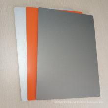 Orange Grey Aluminum Composite Panel for Advertising Signs Digital Printing