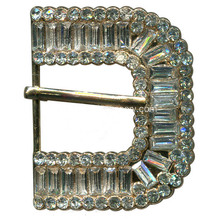Broche Boucle, Rhinestone Pin Buckle, Crystal Stone Leather Buckle