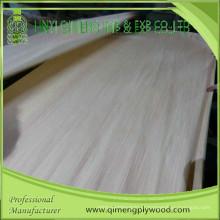 Folheado de madeira projetado com corte cortado com melhor preço e qualidade