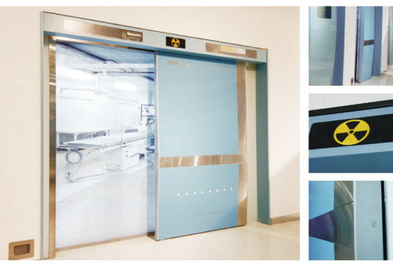 Ningbo GDoor Medical Hermetic Doors with Intelligent Entrance System