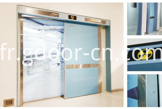 Ningbo GDoor Intelligent Hermetic Doors with Access Control System