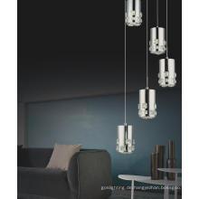 Zeitgenössische gute Design LED Crystal Pendelleuchte (MP7055-5C)