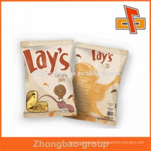 Custom plastic food packaging bag small sachet for Snacks