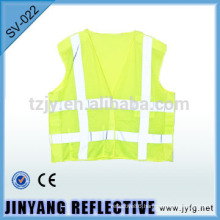 high visibility road construction reflective safety vest