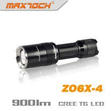 Maxtoch ZO6X-4 cris se concentrant Zoom lampe de poche Led