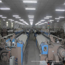 Double Color Electronic Feeder Airjet Loom Cam Shedding Weaving Machine