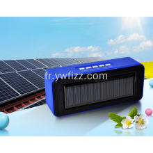Haut-parleur Bluetooth portable Creative Solar Powered