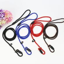 4 Farbe Slip Kragen Seil Hundeleine P Kette Nylon Welpen Hundeleine Seil