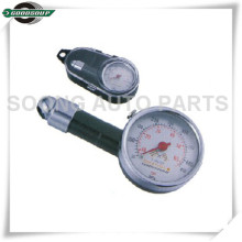 Mini Metal Dial Tire Gauge