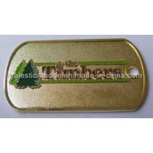 Gold Plating & Soft Enamel Tree Key Chain 030