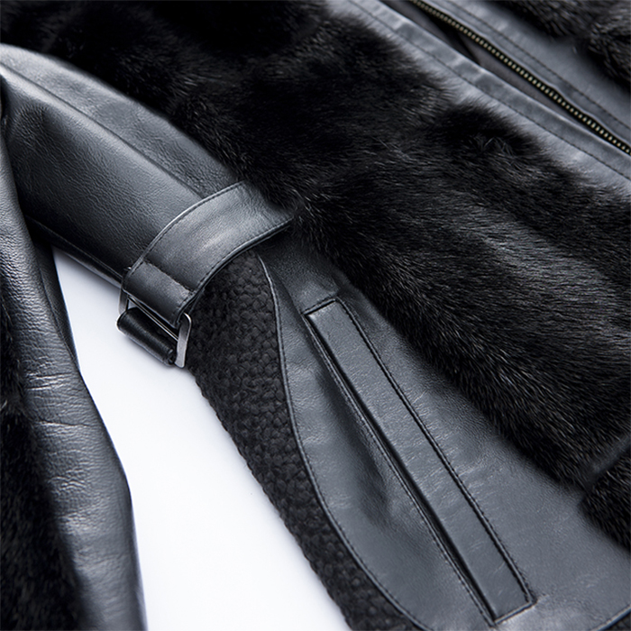 Details of the New Black Cashmere jacket