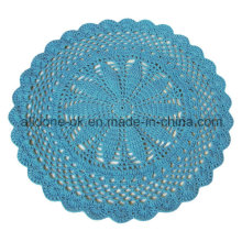 Домашнее украшение одеяла одеяла коврика ребенка OEM круглой руки крюка