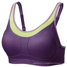 Design personalizado Dri-Fit Yoga Bra, sutiã esportivo, sutiã esportivo da China fábrica, desgaste das mulheres