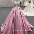Long Pink Satin Backless Evening Dresses Formal Dresses For Lady Wear 2018 Alibaba