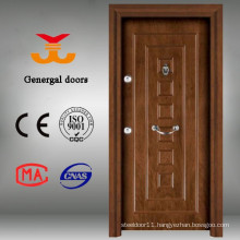 Multi lock Wooden Steel door security Door